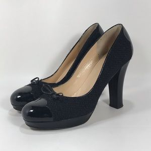 Kate Spade New York Platform Cap Toe Pumps Sz 9